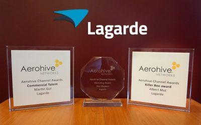 Lagarde valt in de prijzen op Aerohive Xperience day