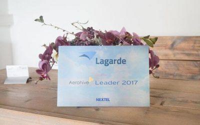 Lagarde genomineerd als Aerohive Leader 2017 voor Nextel event