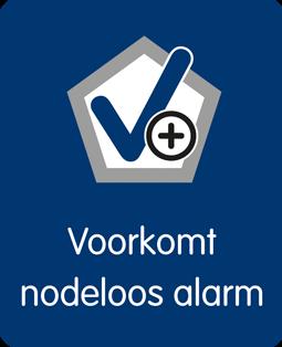 Voorkom nodeloos alarm logo