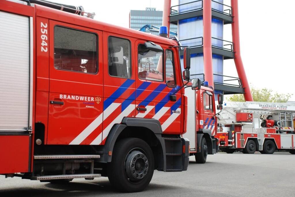 Brandweerauto Flevoland