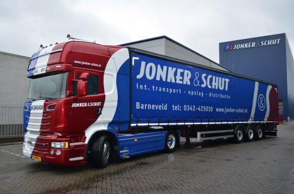 Jonker en Schut vrachtwagen
