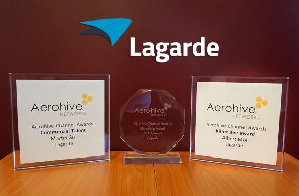 Aerohive awards