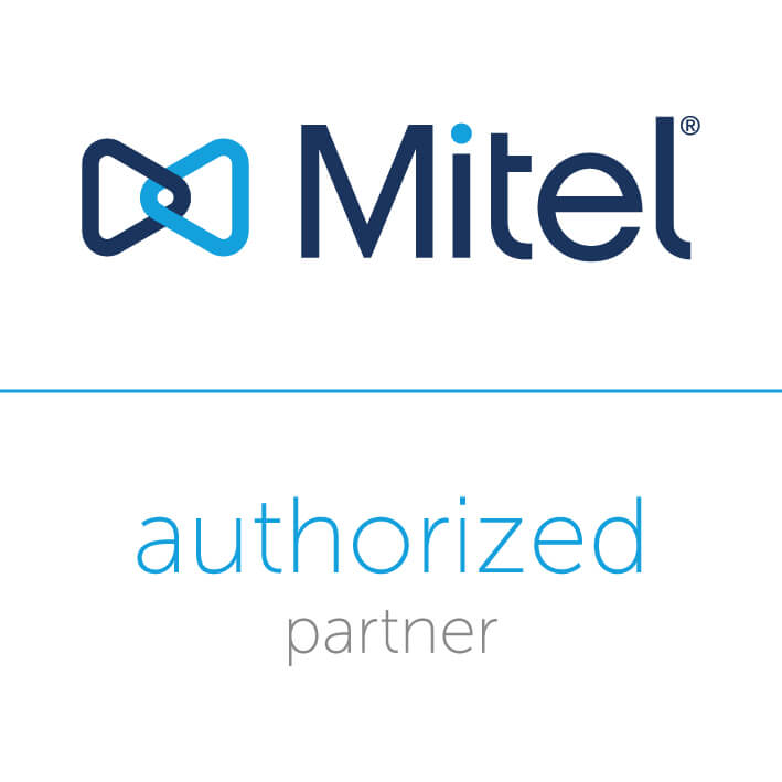 Mitel authorized partner logo