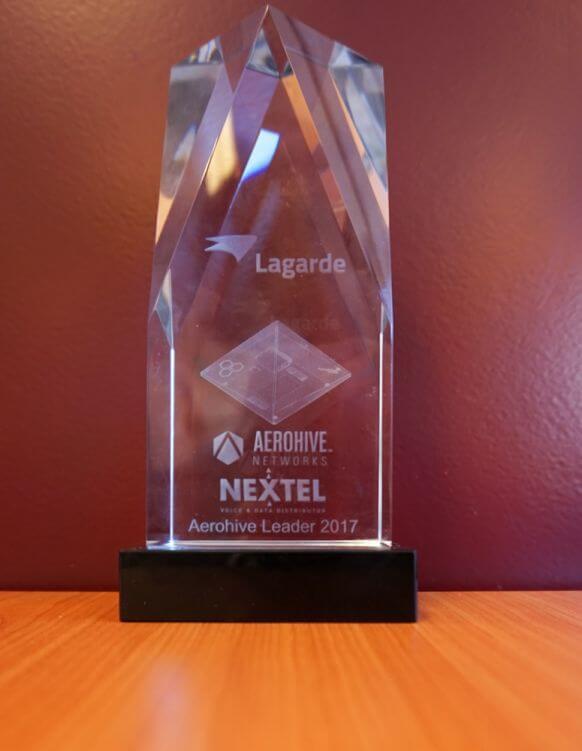Aerohive Leader Award