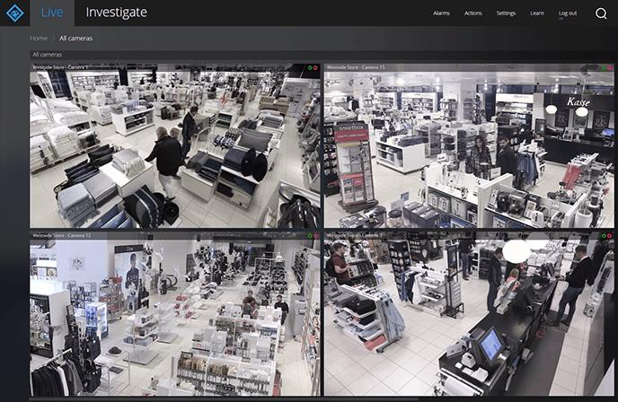 camerabeelden retail