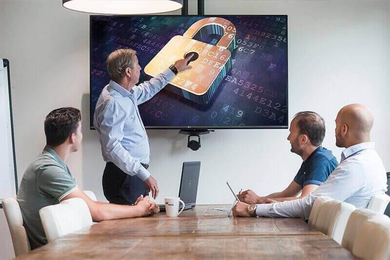 Toelichting MFA op scherm