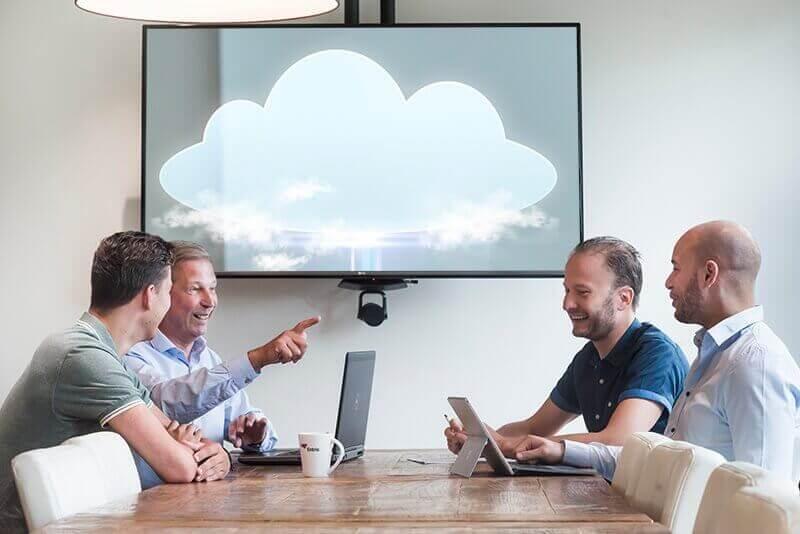 Cloud oplossing inrichten