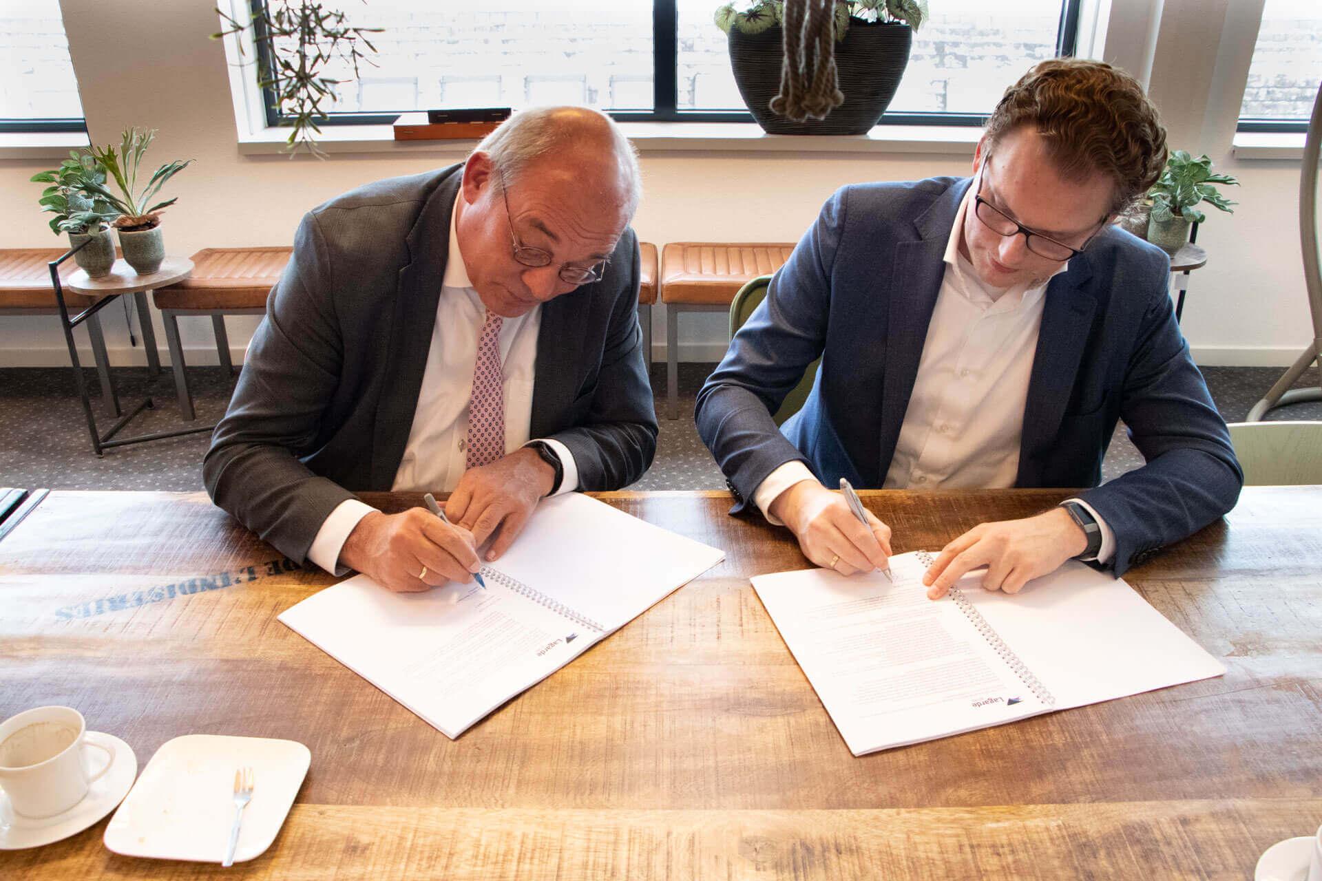 ondertekening rapporten