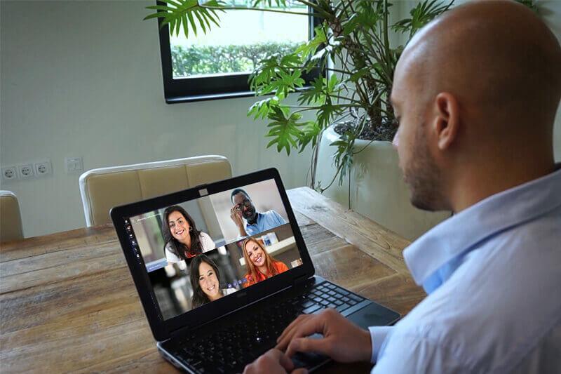 Microsoft Teams meeting medewerkers klantteam