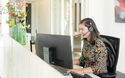 Extra functionaliteit voor telefonie met Receptionist+