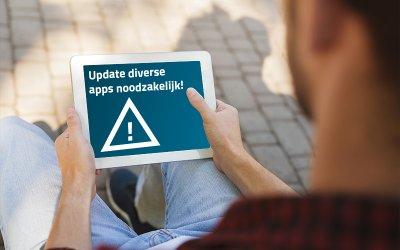 Noodzakelijke update Hipper+, KPN en Telefooncentrale beheer apps