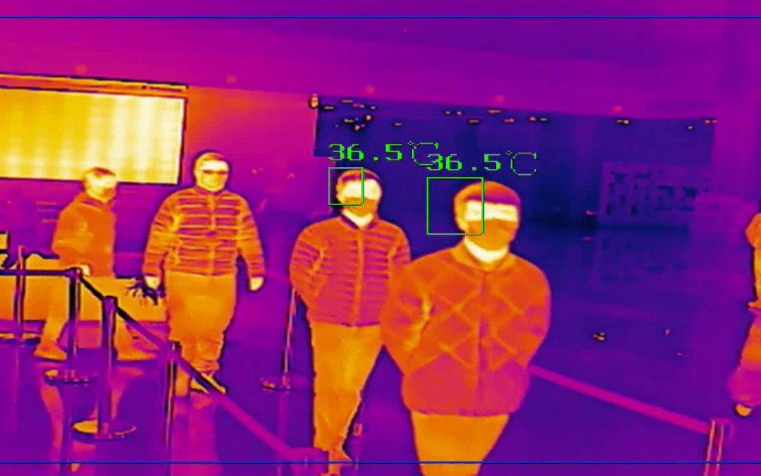 Fever screening met thermische camera's