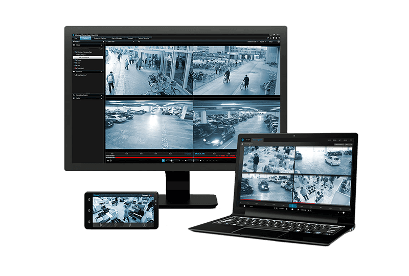 Video management software devices
