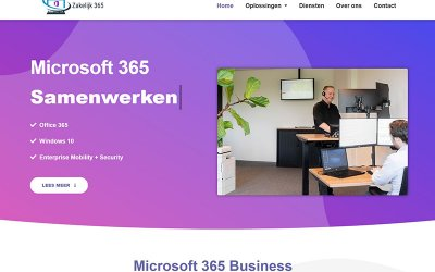 Zakelijk365.nl – haal meer uit Microsoft 365