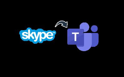 31 juli 2021: einde Skype for Business