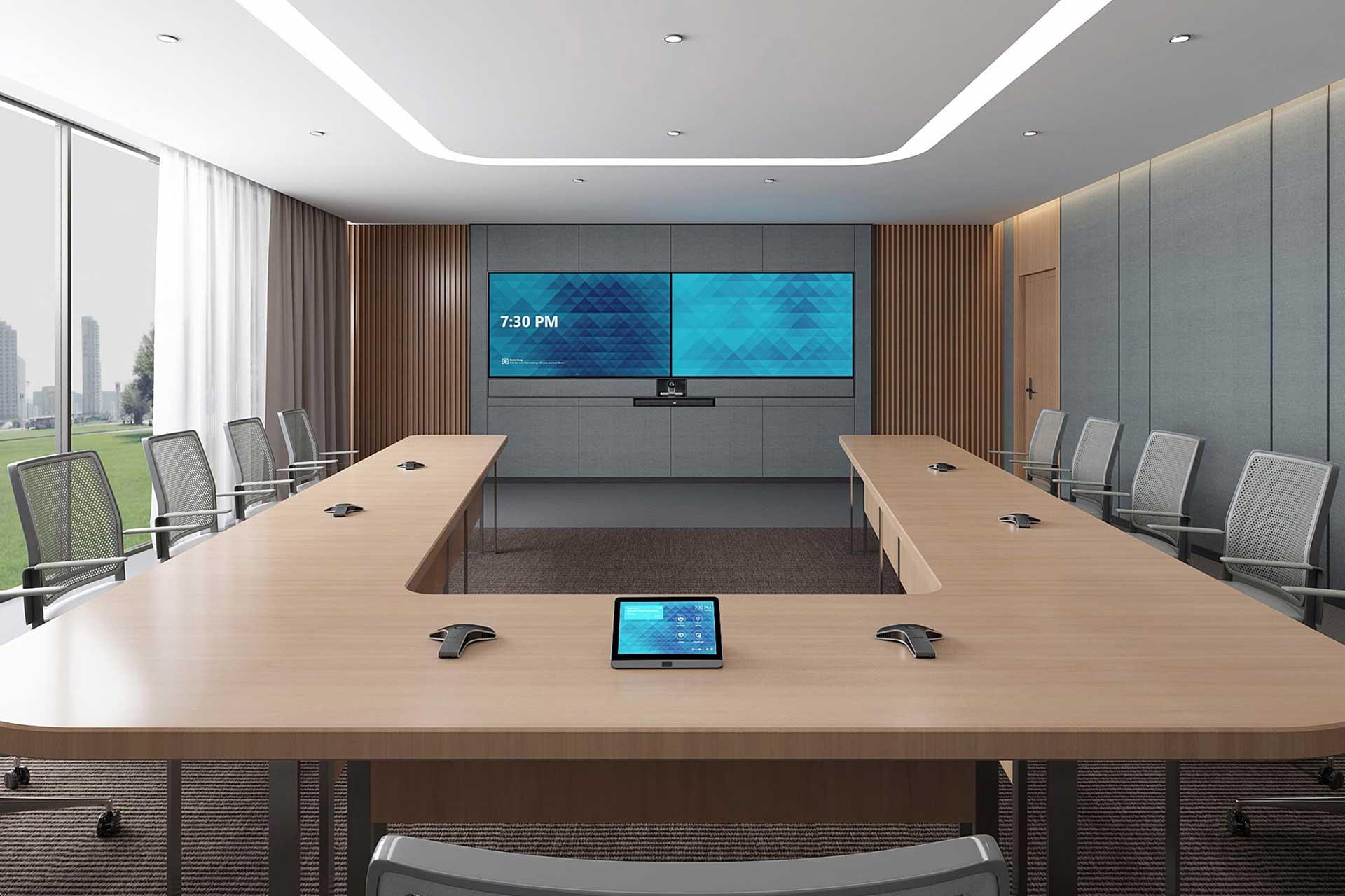 Video vergaderen grote ruimte