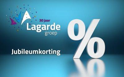 30 jaar Lagarde Groep, SLA uw slag!
