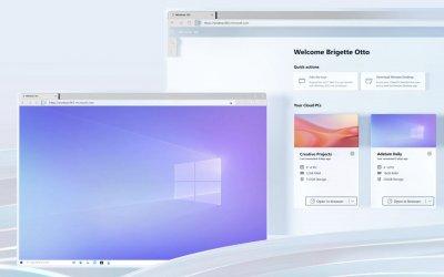 Hybride werken met Windows 365